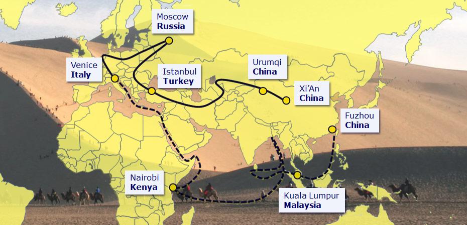 Resultado de la imagen para Rusia y China han hecho del Mediterráneo una prioridad, ¿los Estados Unidos aceptarán el desafío?
