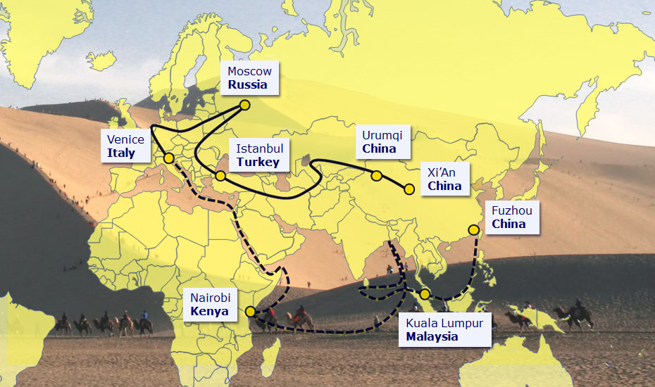 One Belt One Road A Brilliant Plan - Us new silk road map